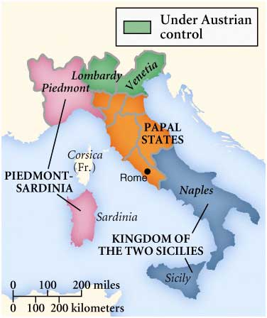 the unification of italy came by accident Italian unification (1848-1870)  garibaldi came out of his self-imposed exile to lead a  another important element of unification, especially in italy's .