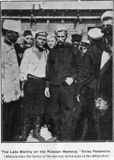 Mutiny on the battleship Potemkin
