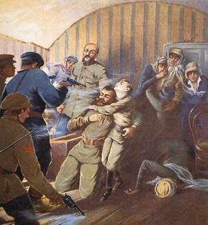 Shooting of the Romanov family