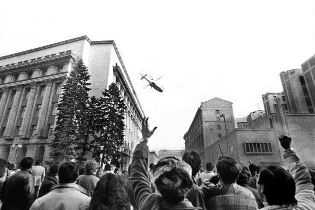 Overthrow of Ceaușescu
