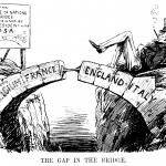 The Gap in the Bridge cartoon