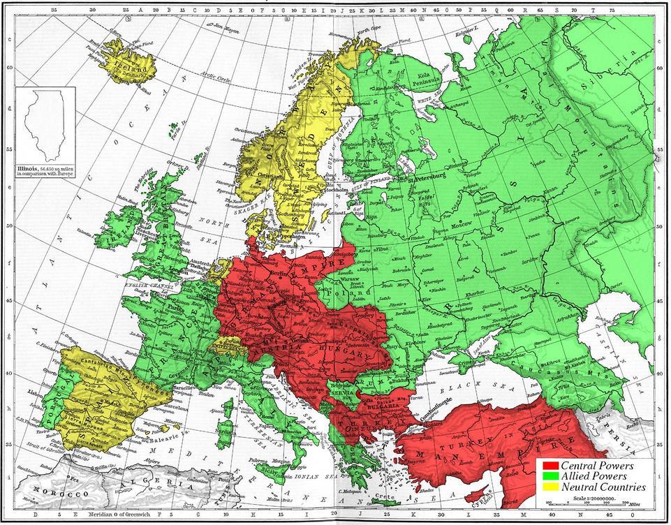 Europes-military-alliances-in-World-War-I-1914
