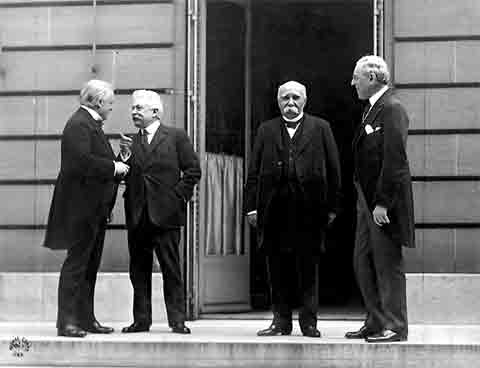 The Big Four at the Paris Peace Conference