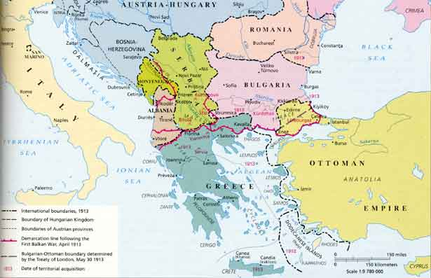 conflicts in the balkans before the first world war