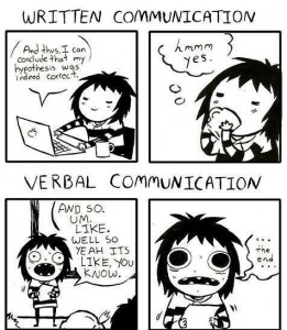 Why notes and plans are just as important as the presentation itself. From @SarahCAndersen