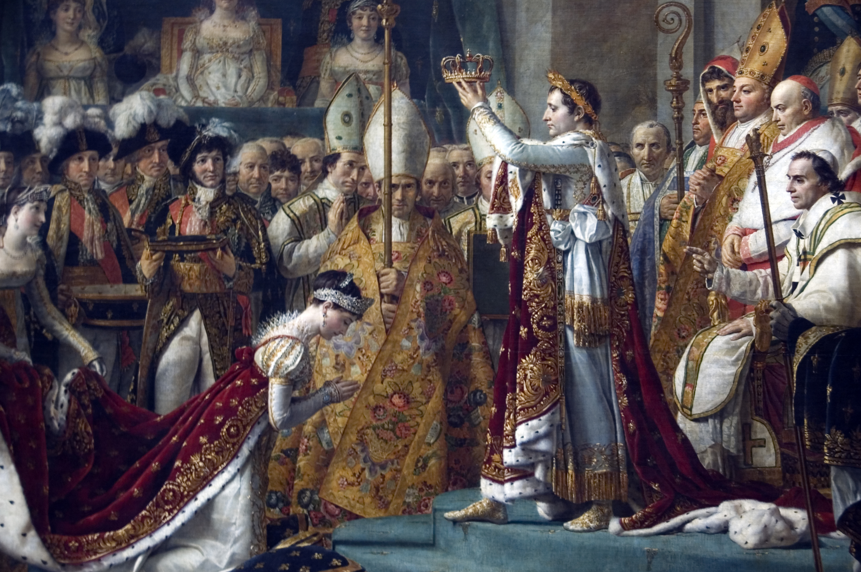 The rise of Napoleon to become Emperor of the French ...