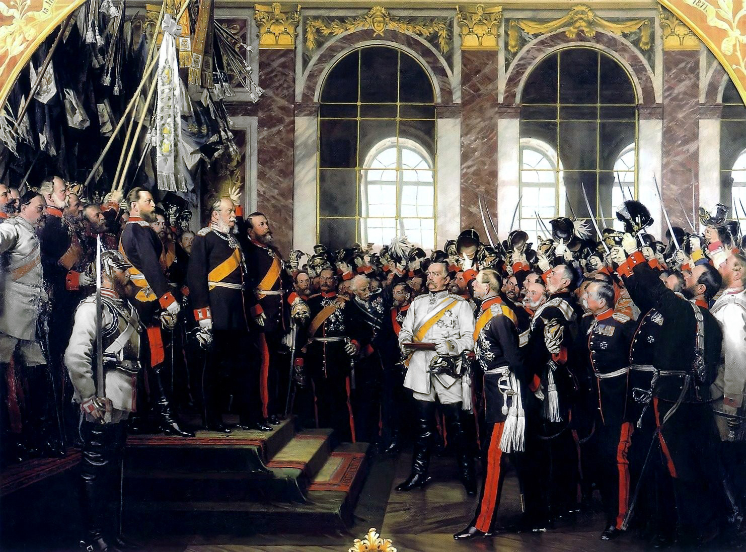 Wilhelm I declared German Emperor