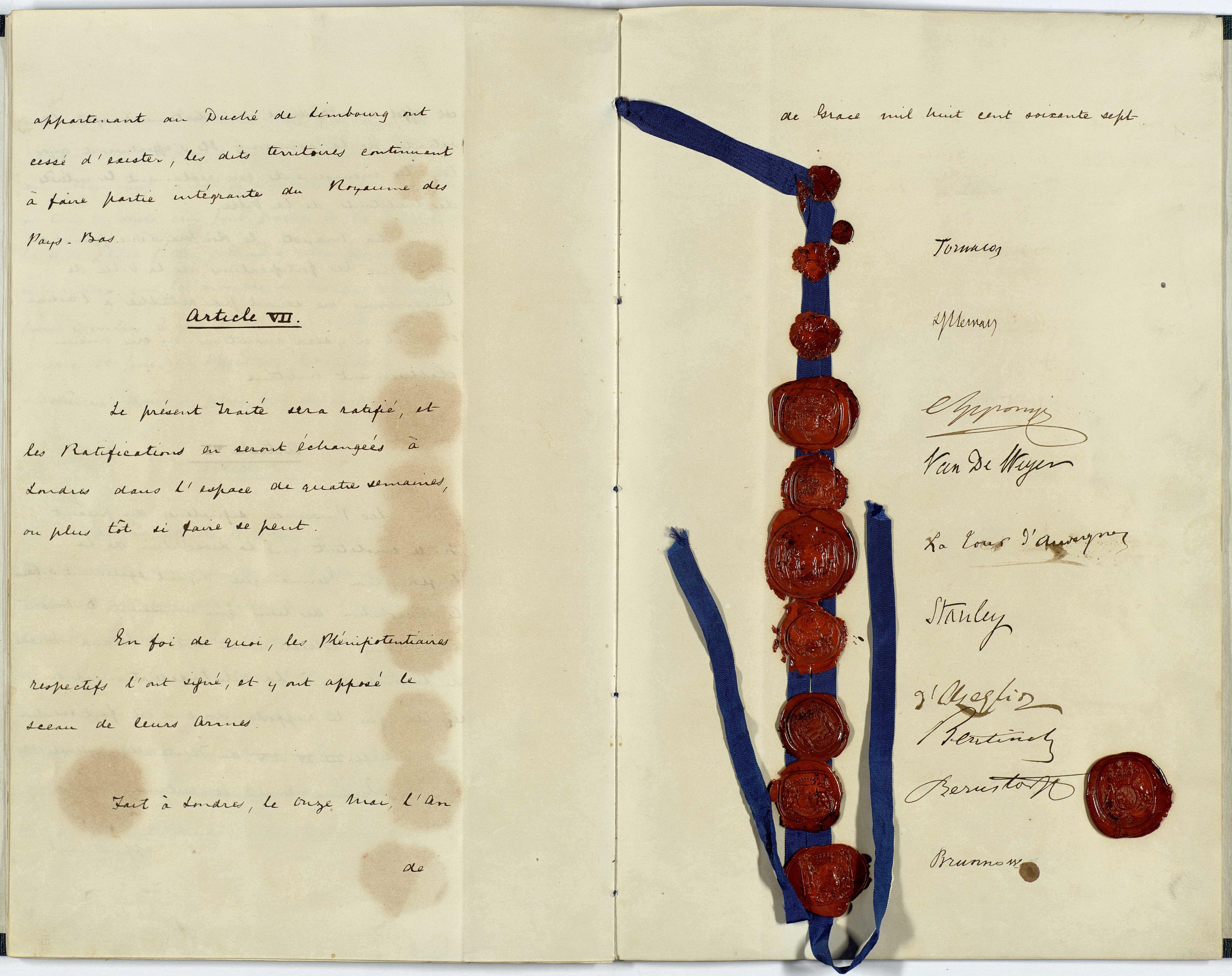 Treaty of London 1839