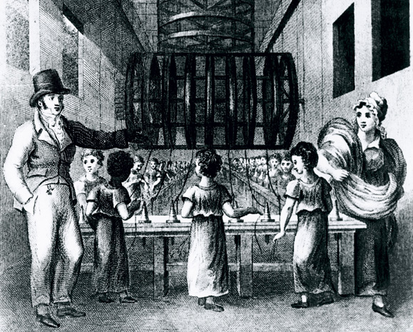 Victorian child factory workers