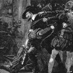 Arrest of Guy Fawkes during the Gunpowder Plot