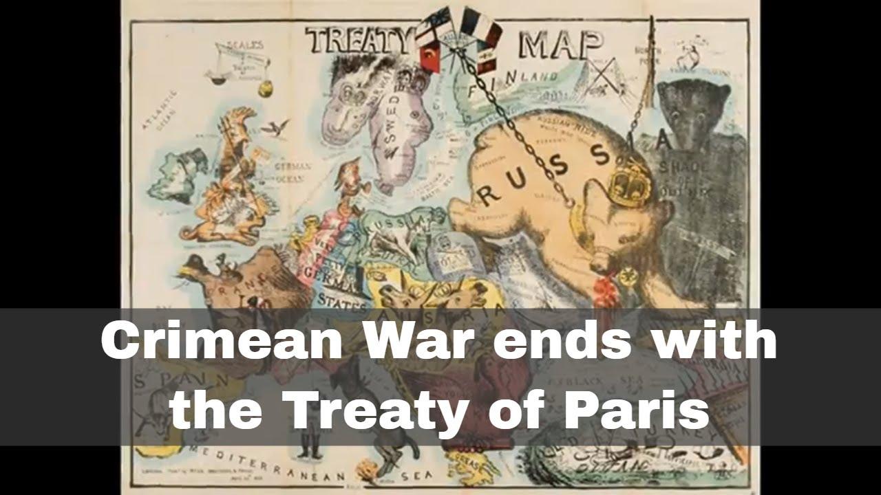 End of the Crimean War