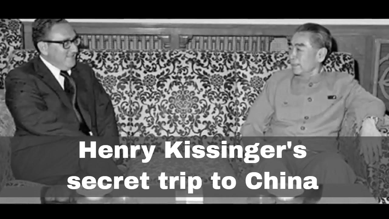 Kissinger's secret trip to China
