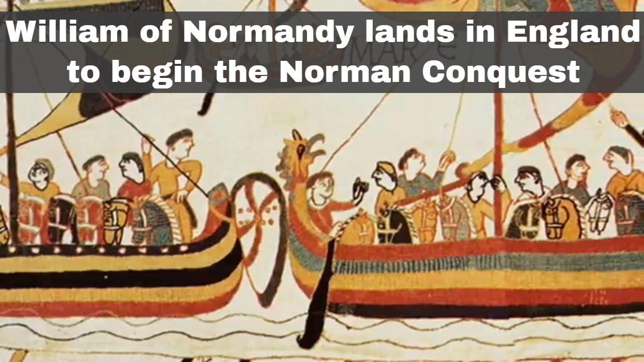 The Norman landing