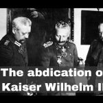 Abdication of Wilhelm II