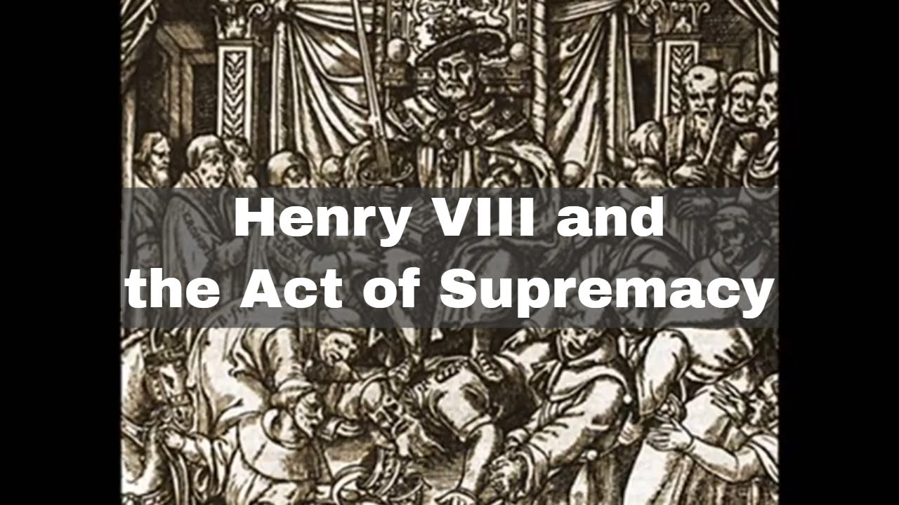 The Act of Supremacy