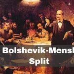 Bolshevik-Menshevik Split