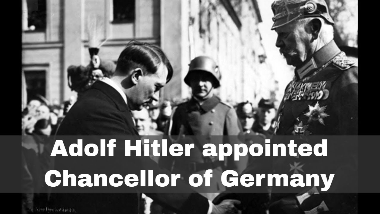 Hitler appointed Chancellor